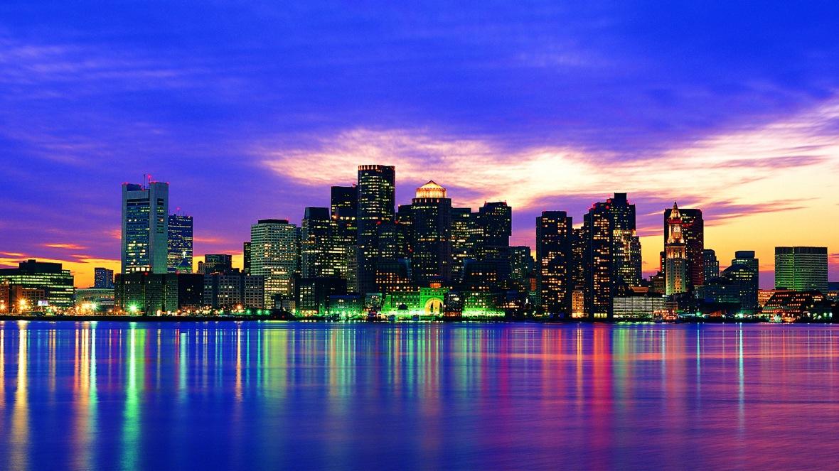 Boston skyline, Massachusetts, USA --- Image by © Ocean/Corbis